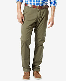 Dockers Men's Stretch  Athletic Fit Washed Khaki Pants