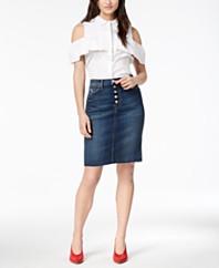 51a53718c Hudson Jeans Dressy Skirts: Shop Dressy Skirts - Macy's