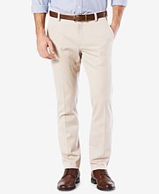 Men's Easy Slim Fit Khaki Stretch Pants