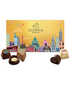 Godiva 18-Pc. Wonderful  City Dreams Gift Box