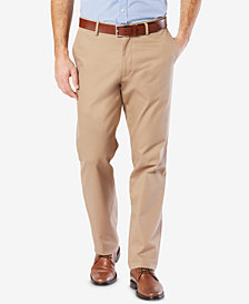 Dockers Men's Big & Tall Classic Fit Clean Khaki Stretch Pants