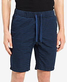 "Calvin Klein Jeans Men's Pull-On Striped 9"" Shorts"