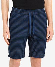 "Calvin Klein Jeans Men's Pull-On Striped 9"" Shorts"