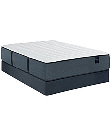 "MacyBed Lux Dunmore 14.5"" Cushion Firm Hybrid Mattress Set - California King, Created for Macy's"