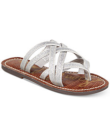 Sam Edelman Georgette Glitter Sandals, Little Girls & Big Girls