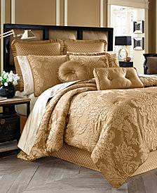 J Queen New York Concord 4-Pc. Gold Queen Comforter Set