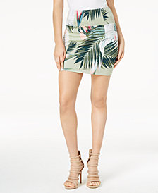 GUESS Georgina Printed Skirt
