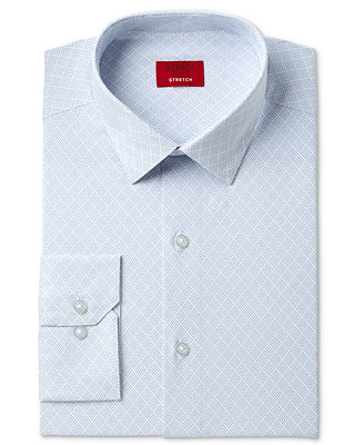 Slim Fit Stretch Assorted Dress Shirts, Created For Macy's by Alfani