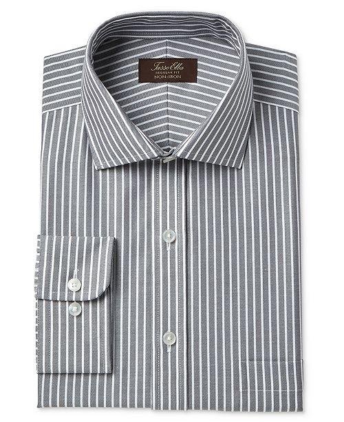 Men S Clothing Shirts Eagle Non Iron Stretch Collar Regular Fit Glen Plaid Dress