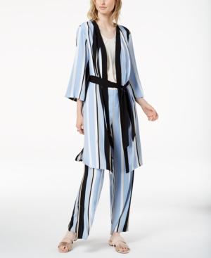 Bar Iii Striped Kimono...
