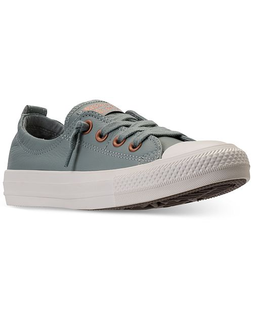 48fe7fdc2ac ... Converse Women s Chuck Taylor Shoreline Ox Casual Sneakers from Finish  ...