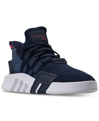 adidas Men's Originals EQT Basketball Knit OG Off-Court Sneakers from Finish Line