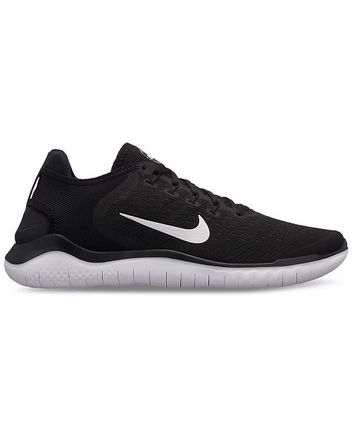 6601e414d38cf Nike Men s Free Run 2018 Running Sneakers from Finish Line   Reviews ...