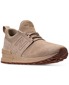 New Balance Men's 574 S Premium Casual Sneakers from Finish Line