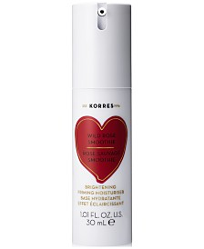 KORRES Wild Rose Smoothie Brightening Priming Moisturiser, 1.01 fl. oz.