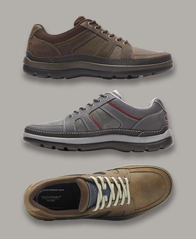 Rockport Men's Get Your Kicks Mudguard Blucher Casual Shoes
