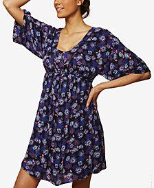 Jessica Simpson Maternity Printed Nursing Dress