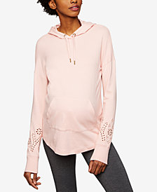 A Pea In The Pod Maternity Embellished Hoodie
