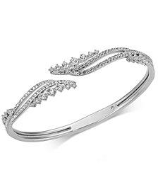 Danori Pavé Swirl Bangle Bracelet, Created for Macy's