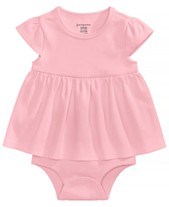 6447ea7f3 First Impressions Cotton Bodysuit Dress, Baby Girls, Created for Macy's
