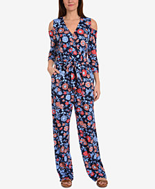 NY Collection Off-The-Shoulder Jumpsuit