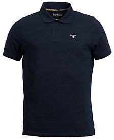 Barbour Men's Tartan Piqué Knit Polo