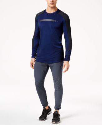 Men's Perpetual Metallic-Logo Long-Sleeve T-Shirt
