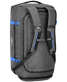 CLOSEOUT! High Sierra Decatur Duffel Backpack