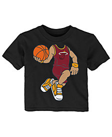 Outerstuff Hassan Whiteside Miami Heat Dunkin T-Shirt, Infant Boys (12-24 Months)