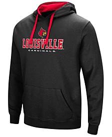Men's Louisville Cardinals 3 Stack Logo Hoodie