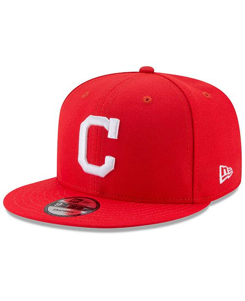 c74342d9145 ... New Era Cleveland Indians Players Weekend 9FIFTY Snapback Cap ...
