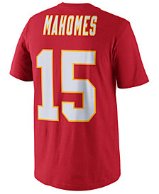 Nike Men's Pat Mahomes Kansas City Chiefs Pride Name and Number T-Shirt