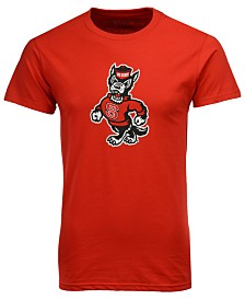 New Agenda Men's North Carolina State Wolfpack Big Logo T-Shirt