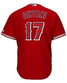 Majestic Men's Shohei Ohtani Los Angeles Angels Player Replica Cool Base Jersey