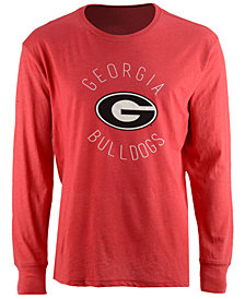 Pressbox Women's Georgia Bulldogs Melange Long Sleeve T-Shirt