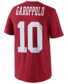 Nike Men's Jimmy Garoppolo San Francisco 49ers Pride Name and Number T-Shirt