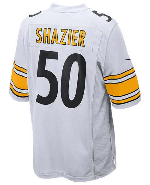 new concept 11393 c959f Nike Men's Ryan Shazier Pittsburgh Steelers Game Jersey ...