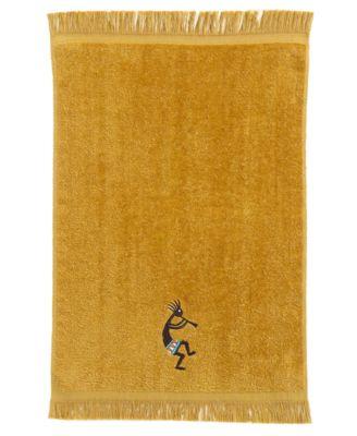 Kokopelli Cotton Fingertip Towel