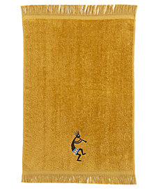 Avanti Kokopelli Cotton Fingertip Towel