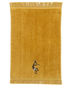 "Avanti ""Kokopelli"" Fingertip Towel, 11"" x 28"" Bedding"