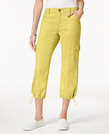 Style & Co Cargo Capri Pants in Regular & Petite Sizes, Created for Macy's