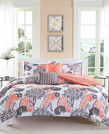 Marie 5-Pc. Full/Queen Comforter Set