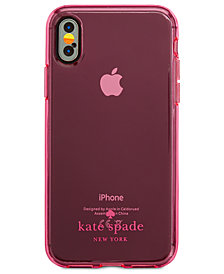 kate spade new york Flexible Tinted iPhone X Case