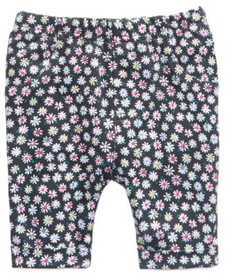 Baby Girls Printed Cotton Bermuda Shorts, Created for Macy's