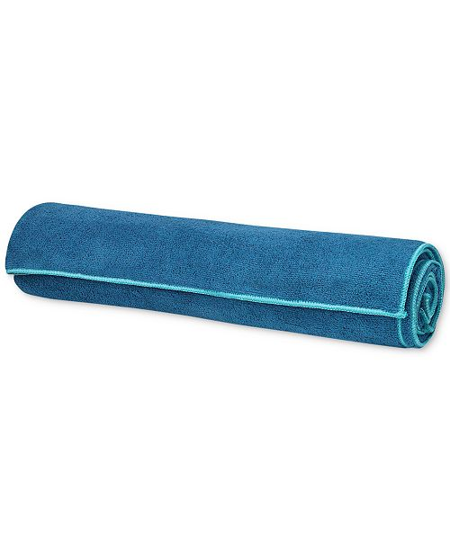 Turquoise Mat Yoga Gaiam Towel Cover a0FqWw4
