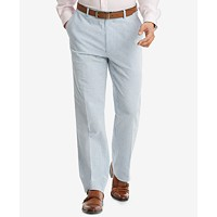 Deals on Tommy Hilfiger Mens Slim-Fit THFlex Stretch Seersucker Suit Pants
