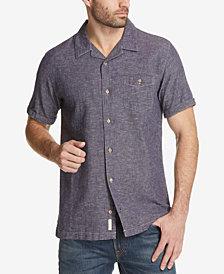 Weatherproof Vintage Men's Linen Cotton Shirt