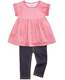 First Impressions Dolman Tunic & Leggings Separates, Baby Girls, Created for Macy's