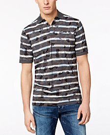 G-Star Men's Swando Camo-Stripe Polo, Created for Macy's
