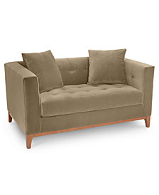 "Martha Stewart Collection Brookline 60"" Loveseat, Created for Macy's"